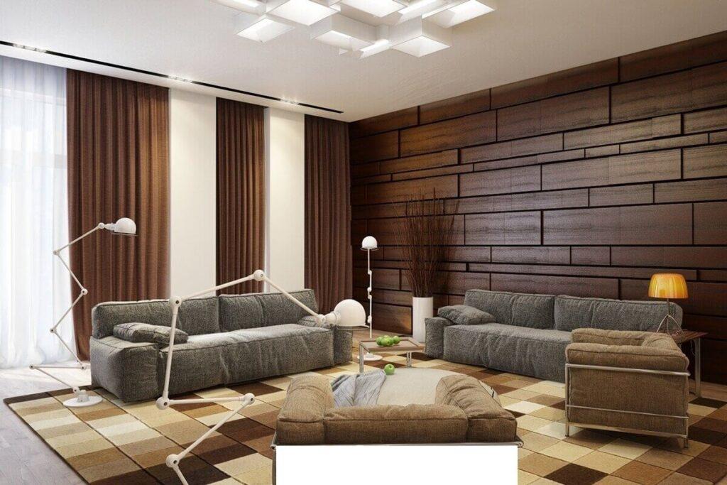 Что такое стеновые панели и как красиво использовать их в дизайне своей квартиры